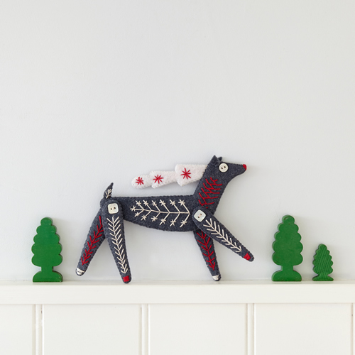 Downloadable reindeer