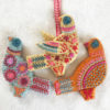 Three French Hens embroidery kit