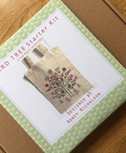 Bird Tree Starter Embroidery Kit Outer Packaging