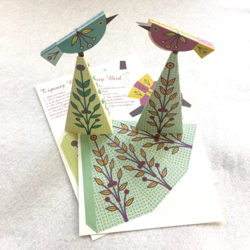 Card Pack - Topiary Birds