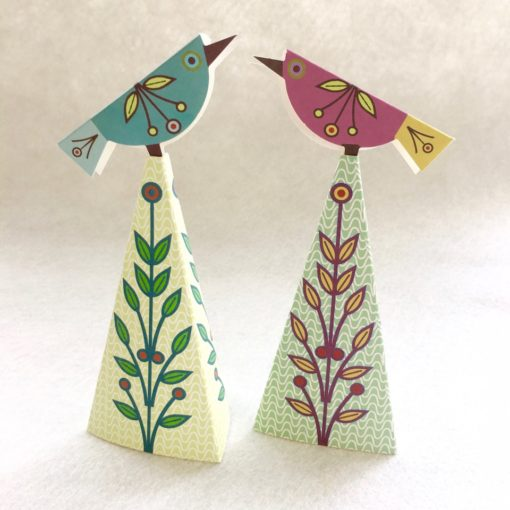 Topiary Birds - 2 assembled