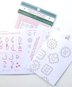 Advent calendar pack contents