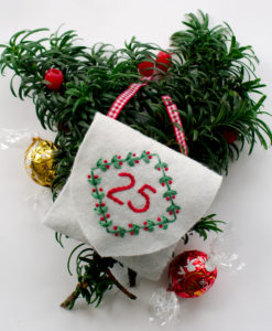 Advent calendar 25 pocket