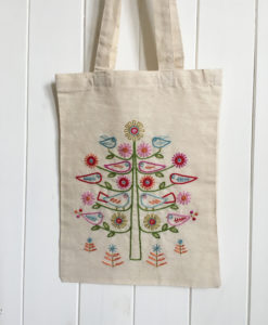 Bird Tree Starter Embroidery Kit